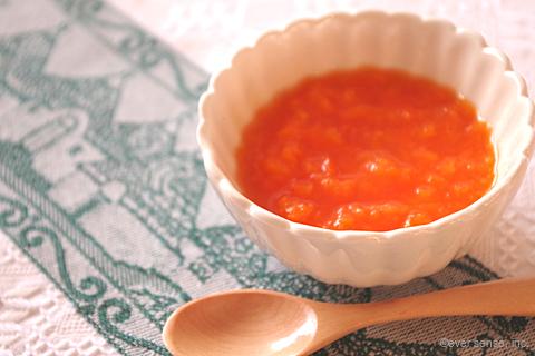 トマトとにんじんのスープ