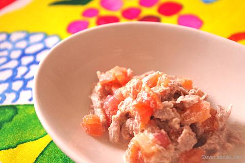 牛肉とトマトの豆乳煮こみ