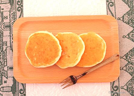 豆腐と野菜のパンケーキ