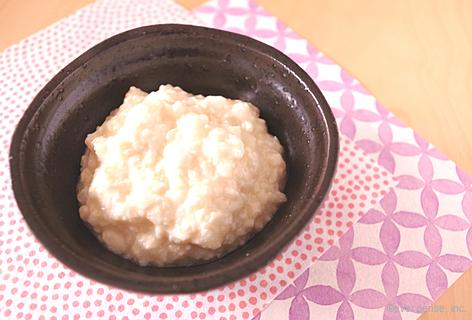 豆腐のおかゆ