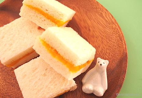 りんごとかぼちゃのサンドイッチ