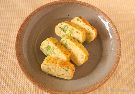 ブロッコリーの卵焼き