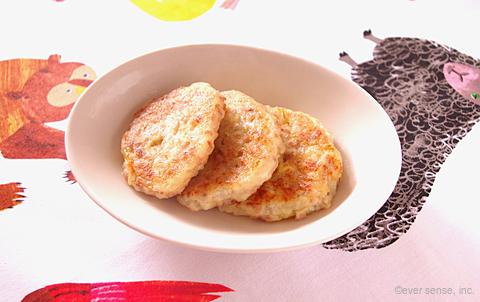 高野豆腐のふわふわハンバーグ