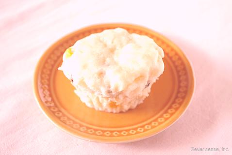ヨーグルト蒸しケーキ