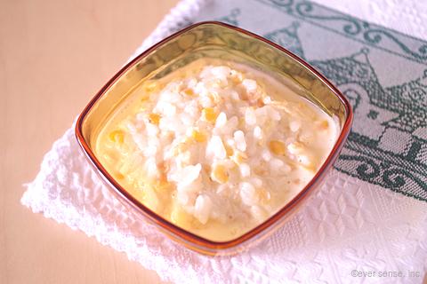 レンズ豆入りミルク粥