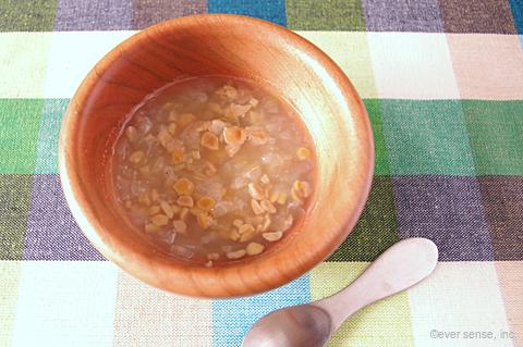 白菜と納豆のスープ