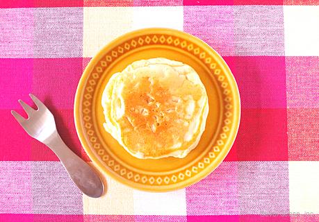 りんごゴロゴロホットケーキ