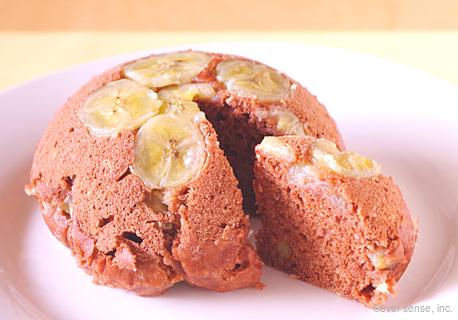 ココアバナナケーキ