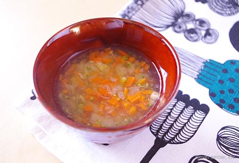 麩入り野菜スープ