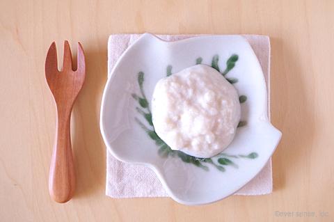 梨と豆腐のデザート