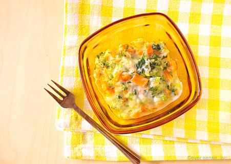 たらと野菜のヨーグルトサラダ