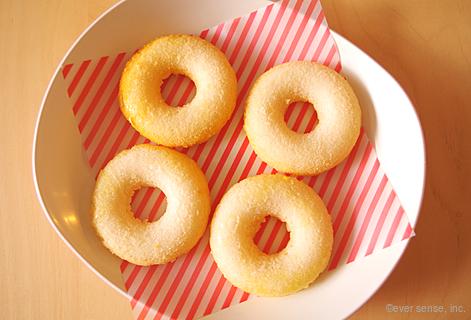 米粉のベイクドドーナツ