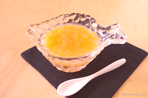 カレイ入り野菜スープ