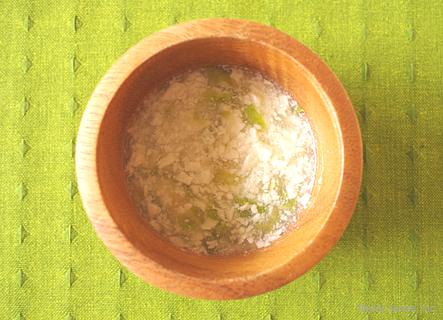 レタスと豆腐の和風あんかけ