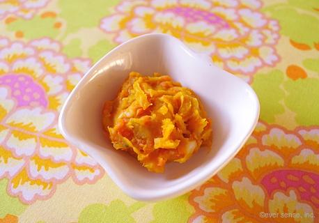 里芋とかぼちゃのサラダ