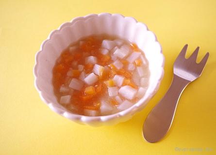 里芋とにんじんの味噌煮