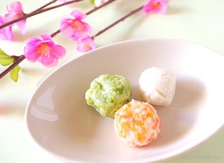 ひな祭り里芋サラダ