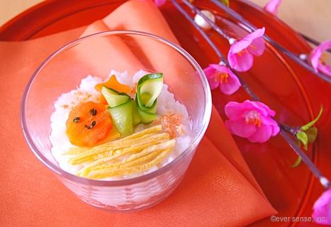 ひな祭りちらし寿司カップ