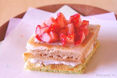 ひな祭り菱餅ケーキ