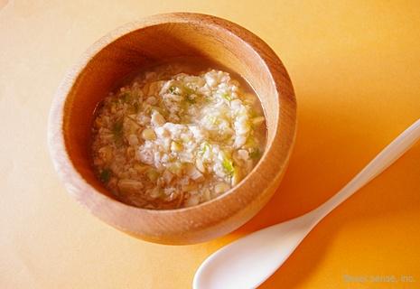 まぐろと納豆のスープ