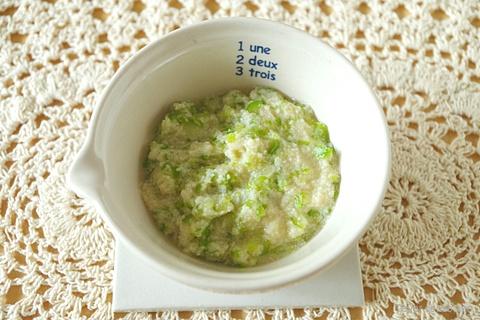 アスパラと高野豆腐の煮物