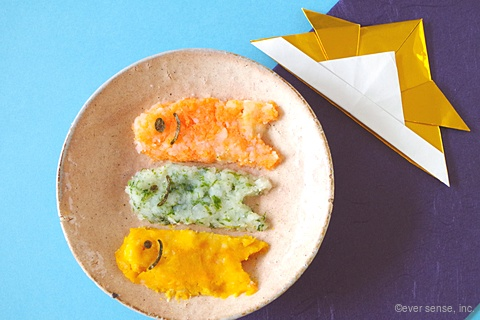 3色こいのぼりポテトサラダ