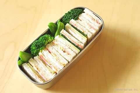 具だくさんサンドイッチ